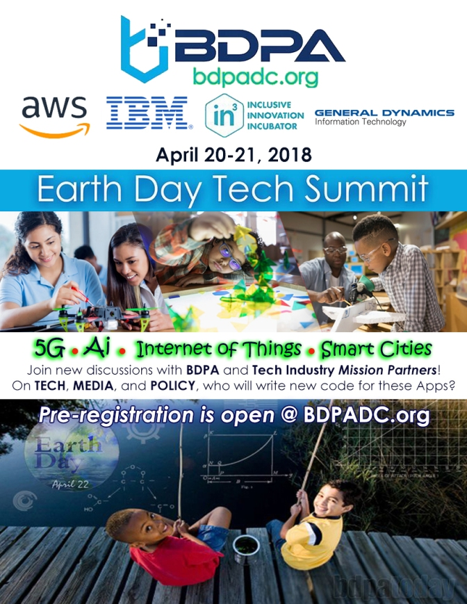 Earth Day Tech Summit 2018. Select here to register.