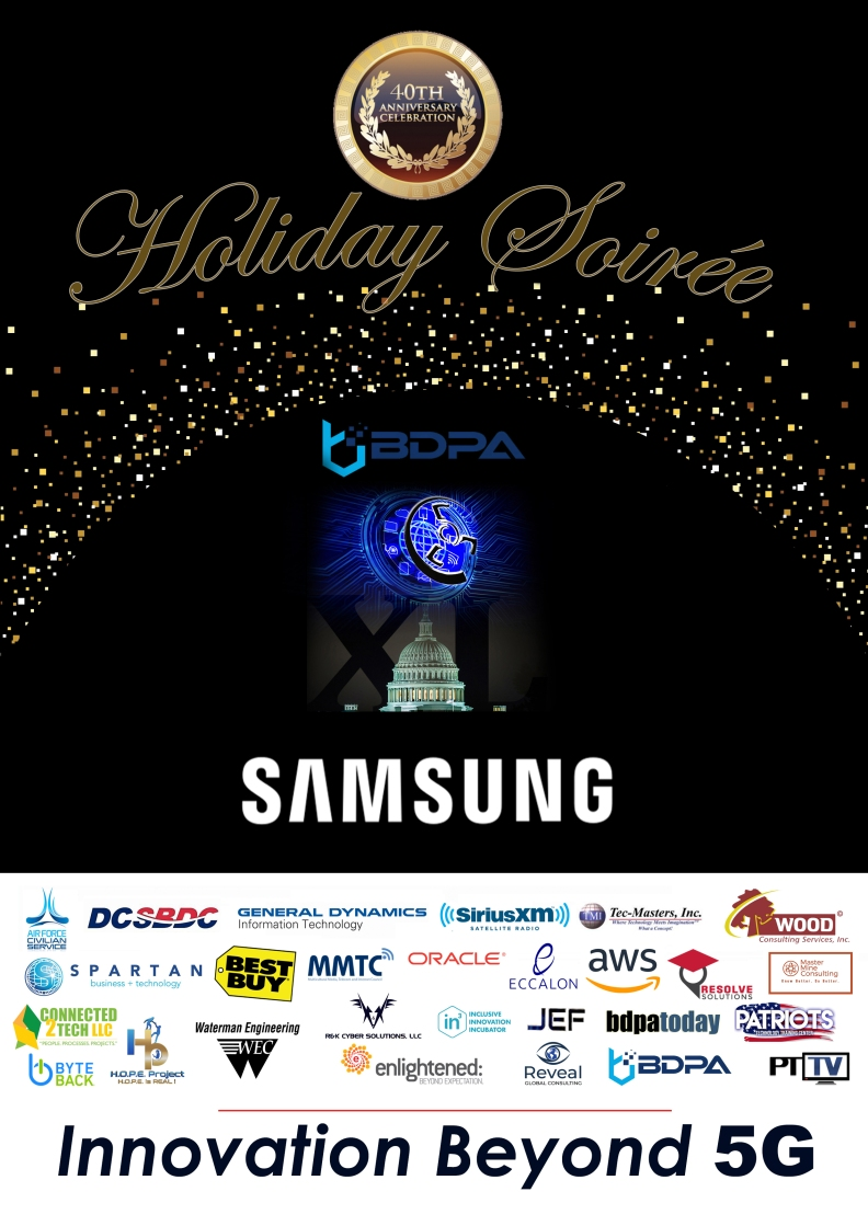 2018 Holiday and 40th Anniversary Soirée | BDPADC.org Poster